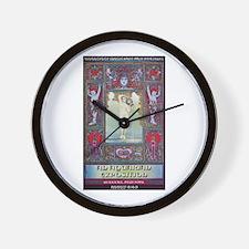Woodstock Aquarian Exposition Wall Clock