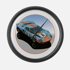 Funny Le mans Large Wall Clock