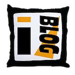 Blogger Throw Pillow
