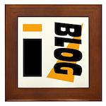 Blogger Framed Tile