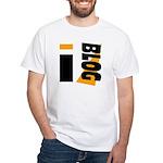 Blogger White T-Shirt
