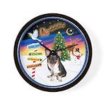 XmasSigns/Corgi Pup (Z) Wall Clock