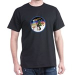 XmasSigns/Corgi Pup (Z) Dark T-Shirt