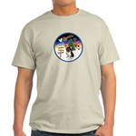 XmasSigns/Corgi Pup (Z) Light T-Shirt
