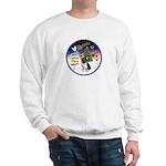 XmasSigns/Corgi Pup (Z) Sweatshirt