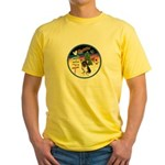 XmasSigns/Corgi Pup (Z) Yellow T-Shirt
