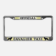 Official Cavalier Taxi License Plate Frame