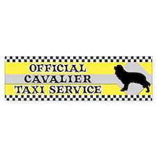 Official Cavalier Taxi Bumper Car Sticker