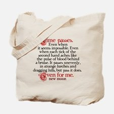 Time passes New Moon Purse Tote Bag
