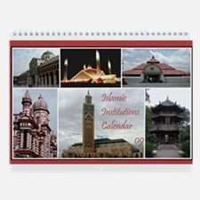 Islamic Institutions Wall Calendar