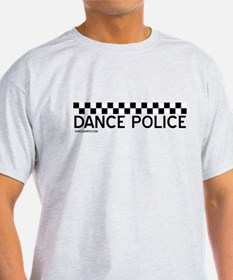 Dance Police Black and White T-Shirt