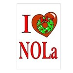 Love NOLa Christmas Postcards (Package of 8)