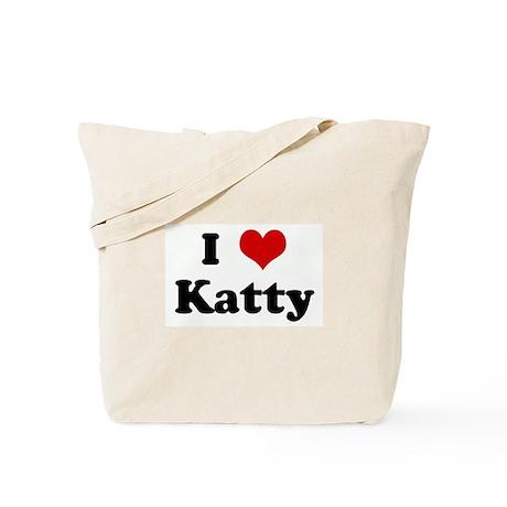 I Love Katty Tote Bag