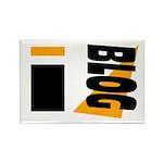 Blogger Rectangle Magnet (10 pack)