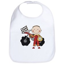 Motocross Racing Red Bib