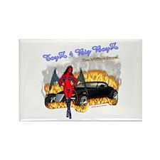 Rectangle Magnet Toyz 4 Big Boyz DrakWing Angel
