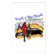Postcards (Package of 8)Toyz 4 Big Boyz DrakWing