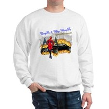 Sweatshirt Toyz 4 Big Boyz DrakWing Angel