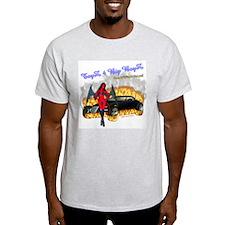 Ash Grey T-Shirt Toyz 4 Big Boyz DrakWing Angel