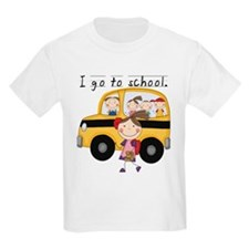 Girl I Go To School T-Shirt