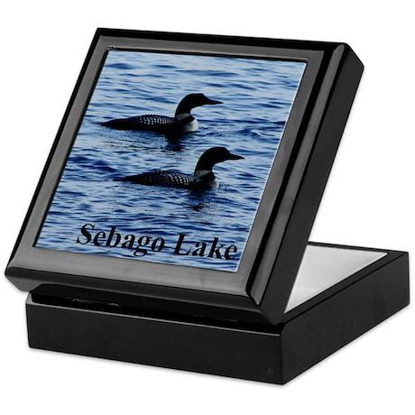 Sebago Lake Loons Keepsake Box