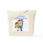 Boy Smart Reader Tote Bag