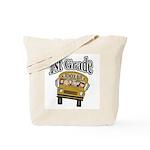 School Bus 1st Grade Tote Bag