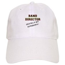Band Director: Respect My Aut Baseball Cap