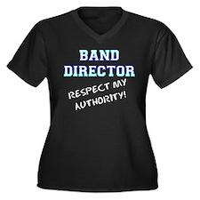 Band Director: Respect My Aut Women's Plus Size V-