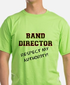 Band Director: Respect My Aut T-Shirt