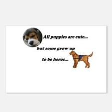 Puppies are cute... Postcards (Package of 8)