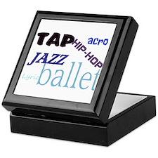Tap/Jazz/Ballet/Lyric/Acro/Hi Keepsake Box