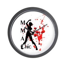 MMA Chic Wall Clock