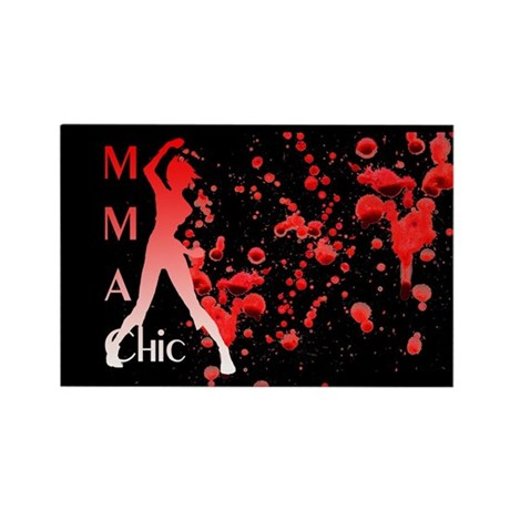 MMA Chic Rectangle Magnet