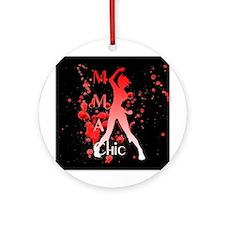 MMA Chic Ornament (Round)