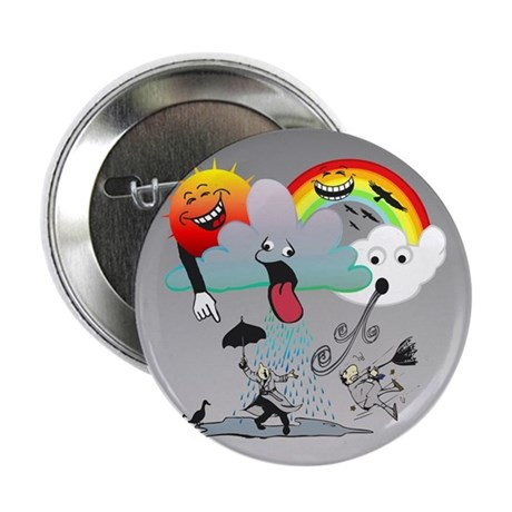 """Very Bad Weather! 2.25"""" Button (10 pack)"""