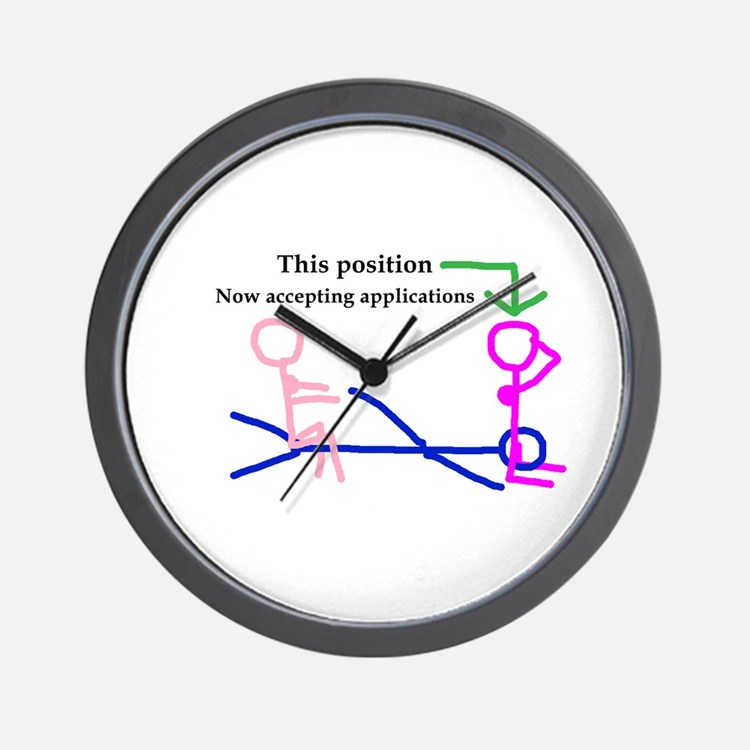This Position Wall Clock