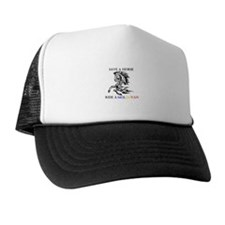 Save a horse Ride a Moldovan Trucker Hat