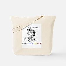 Save a horse Ride a Moldovan Tote Bag