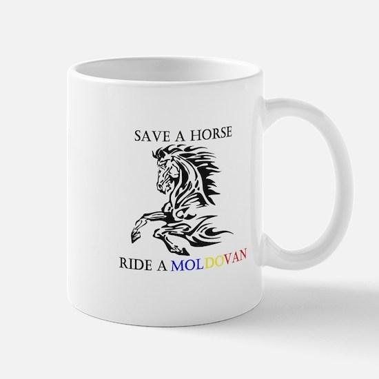 Save a horse Ride a Moldovan Mug