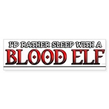 Sleep with a Blood Elf / WoW Bumper Bumper Sticker