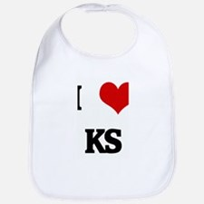 I Love KS Bib