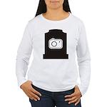 Headstone Photographer Women's Long Sleeve T-Shirt
