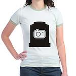 Headstone Photographer Jr. Ringer T-Shirt