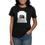 Headstone Photographer Women's Dark T-Shirt