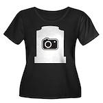 Headstone Photographer Women's Plus Size Scoop Nec