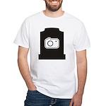 Headstone Photographer White T-Shirt