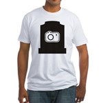 Headstone Photographer Fitted T-Shirt