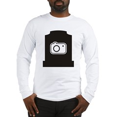 Headstone Photographer Long Sleeve T-Shirt