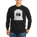 Headstone Photographer Long Sleeve Dark T-Shirt